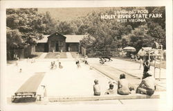 Swimming Pool Holly River State Park West Virginia