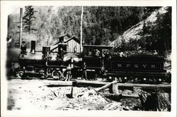 W. P. & Y. R. Locomotive