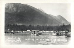 Landing on the Beach, August 1897