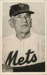 Casey Stengel in Mets Uniform