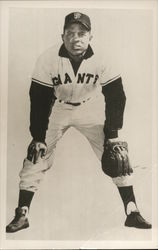 Willie Mays of the San Francisco Giants in Uniform
