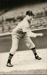 Cleveland Indians Pitcher Bob Feller
