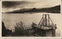 Fish wheel on the Columbia river