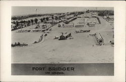 View of Fort in 1889