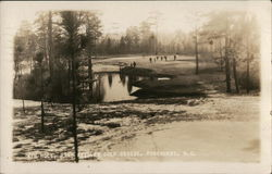 4th Hole, Pine Needles Golf Course