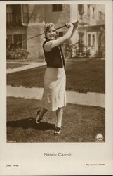 Nancy Carroll Golfing