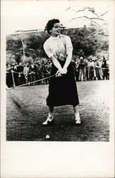 Katherine Hepburn Playing Golf
