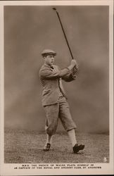 H.R.H. Prince of Wales Golfing