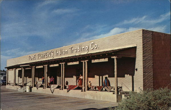 Tobe Turpen's Indian Trading Co. Gallup New Mexico