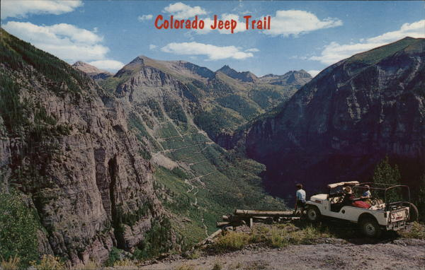 Colorado Jeep Trail Ouray
