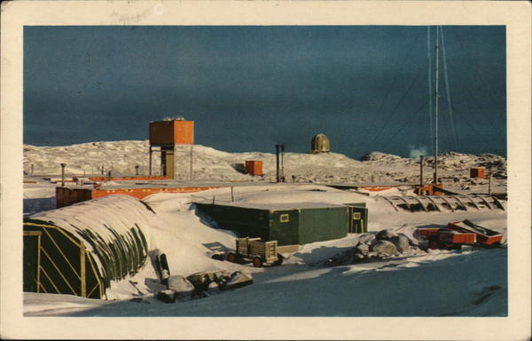 Research Station Wilkes Antarctica