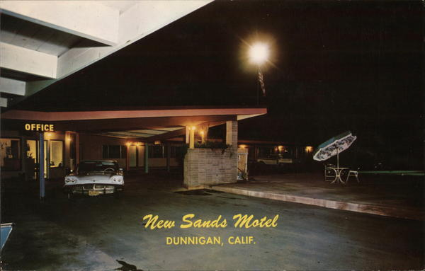New Sands Motel Dunnigan California