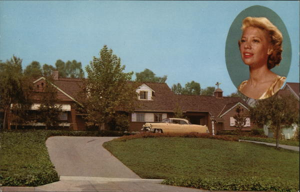 Residence of Dinah Shore Beverly Hills California