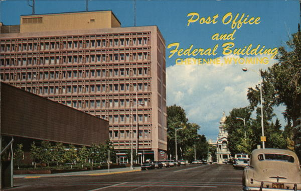 Post Office and Federal Building Cheyenne Wyoming