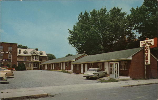 Colonial Motel and Hotel Buckhannon West Virginia