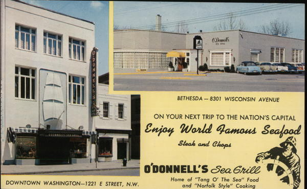 O'Donnell's Sea Grill Washington District of Columbia