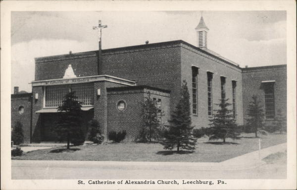 St. Catherine of Alexandria Church Leechburg Pennsylvania
