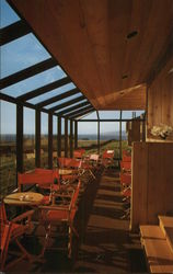 Solarium lounge at the new Sea Ranch Lodge