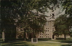 Towers Hall - Otterbein College Postcard