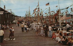 Gala Wharf Scene, Blessing of the Fleet