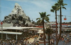 Tomorrowland Terrace and Matterhorn