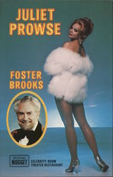 Juliet Prowse and Foster Brooks, Mel Tillis Postcard