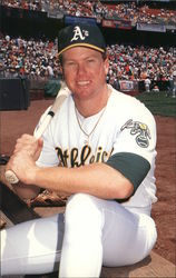 Mark McGwire 25 - Oakland Athletics First Baseman