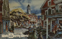 Magic Kingdom Theme Park - Liberty Square