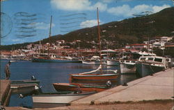 Water Front Scene at Charlotte Amalie