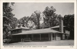 Main Lodge, Michigan Education Association Camp