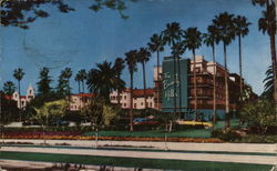 Beautiful Beverly Hills Hotel Postcard