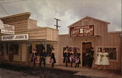 Oregon Centennial Exposition - Frontier Village, Main Street