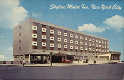 Skyline Motor Inn Postcard