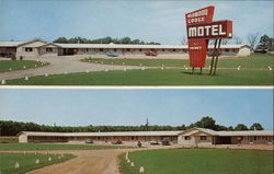 Redwood Lodge Motel Postcard