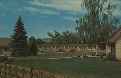 The 7th Avenue Motel, 720 North Wenatchee Ave. Postcard