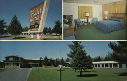 Chalet Motel & Swiss Cottage Restaurant Postcard