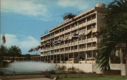 International Airport Hotel Postcard