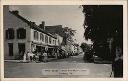 King Street, North from Market Street Postcard
