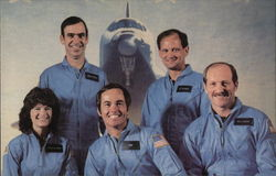 Space Shuttle Orbiter Challenger - Crew Members