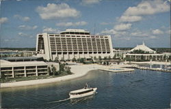 Contemporary Resort Motel - Tomorrowland