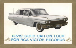 Elvis' Gold Car on Tour for RCA Victor Records