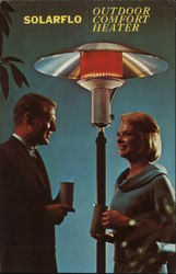Solarflo Gas Fired Radiant Patio Heater