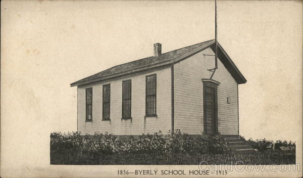 Byerly School House, 1915 Circleville Pennsylvania