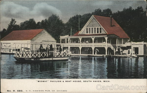Midway Pavilion & Boat House South Haven Michigan