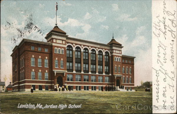 Jordan High School Lewiston Maine