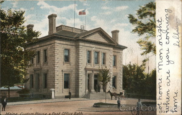 Maine Custom House and Post Office Bath