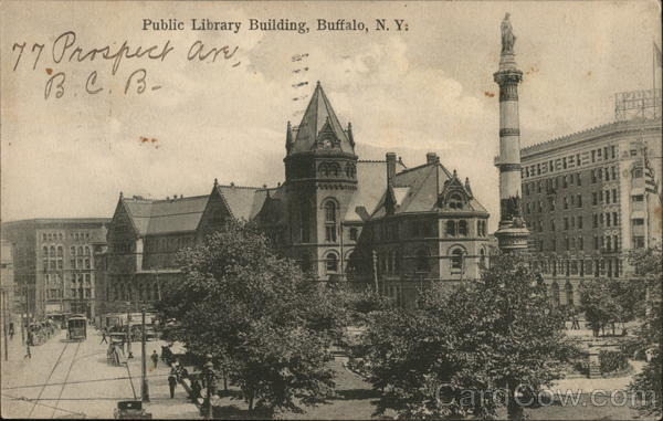 Public Library Building Buffalo New York