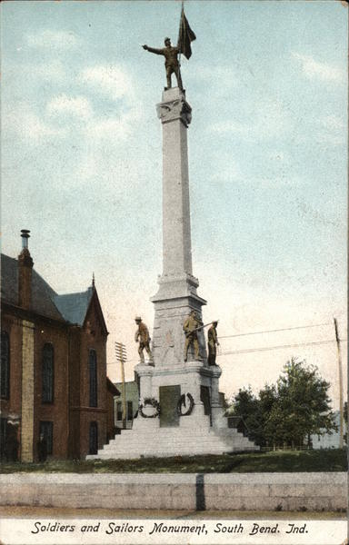 Soldiers and Sailors Monument South Bend Indiana