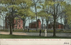 Gymnasium, Shannon Observatory, Coburn Hall, Colby College
