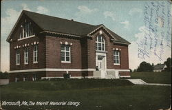 Yarmouth, ME., The Merrill Memorial Library